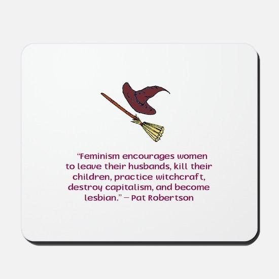 Feminism Mousepad