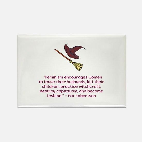 Feminism Rectangle Magnet (10 pack)
