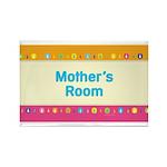 MM Mother's Room Rectangle Magnet (100 pack)