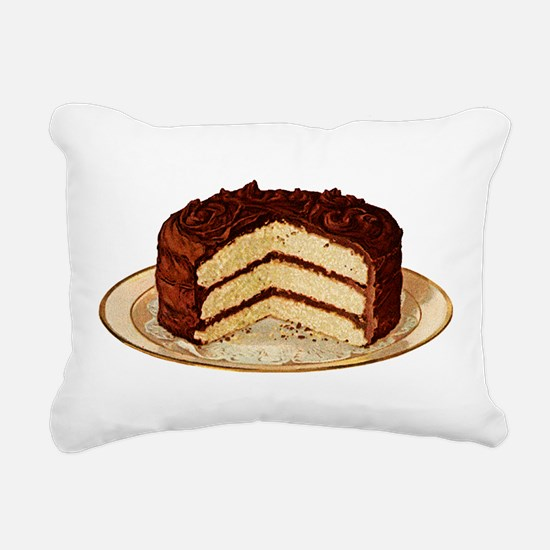 cake-retro_trans.png Rectangular Canvas Pillow
