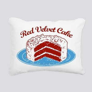 red-velvet-cake2 Rectangular Canvas Pillow