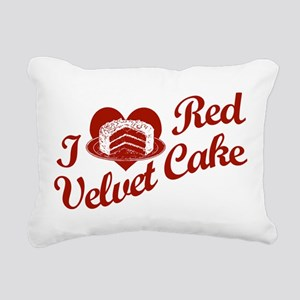 i-love-red-velvet-cake Rectangular Canvas Pill