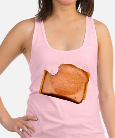 bl_grilledcheese.png Racerback Tank Top