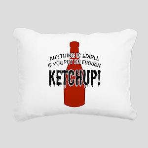 KETCHUP Rectangular Canvas Pillow