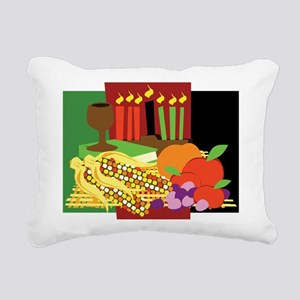 Kwanzaa Design Rectangular Canvas Pillow
