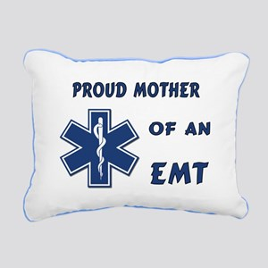 Proud Mother of an EMT Rectangular Canvas Pillow