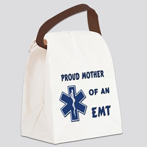 Proud Mother of an EMT Canvas Lunch Bag