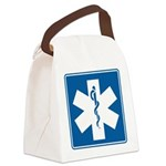 EMT EMS Paramedics Canvas Lunch Bag
