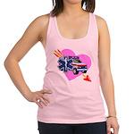 EMS Care Heart Racerback Tank Top