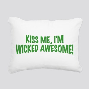 kiss-me-im-wicked-awesome Rectangular Canvas P