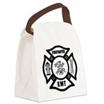 Firefighter EMT Canvas Lunch Bag
