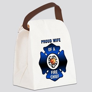 Fire Chiefs Wife Canvas Lunch Bag