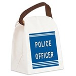 police officer blues Canvas Lunch Bag