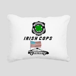 Irish Cops Rectangular Canvas Pillow