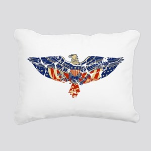 EAGLE-RETRO Rectangular Canvas Pillow
