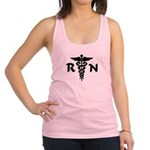 RN Nurse Medical Symbol Racerback Tank Top