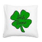 irish nurse Square Canvas Pillow