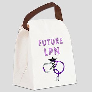 Nurse Future LPN Canvas Lunch Bag