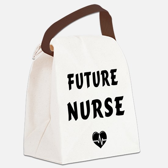 Future Nurse Canvas Lunch Bag