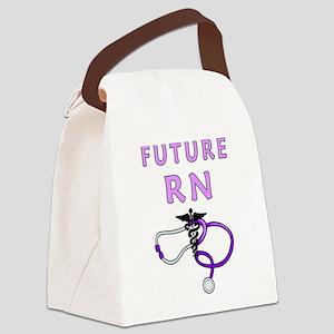 Nurse Future RN Canvas Lunch Bag