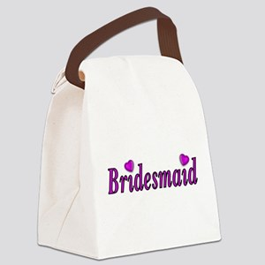 Bridesmaid Simply Love Canvas Lunch Bag