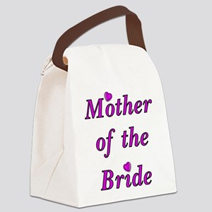 Mother of the Bride Love Canvas Lunch Bag
