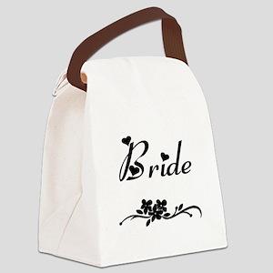 Classic Bride Canvas Lunch Bag