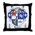 Hagan Coat of Arms Throw Pillow