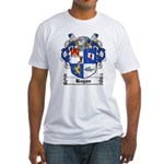 Hagan Coat of Arms Fitted T-Shirt