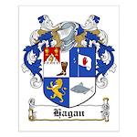 Hagan Coat of Arms Small Poster