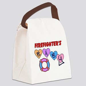 Firefighters Baby Canvas Lunch Bag