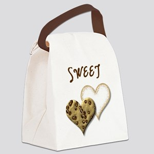Sweet Cookies Canvas Lunch Bag