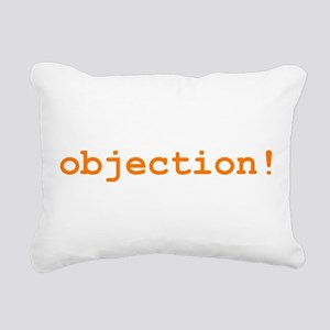 objection_t-shirt Rectangular Canvas Pillow