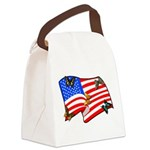 american butterflys Canvas Lunch Bag