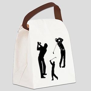 Golf Club Canvas Lunch Bag