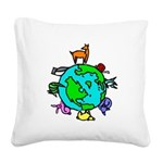 Animal Planet Rescue Square Canvas Pillow