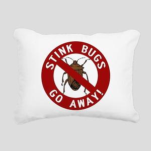 stink bug-go-away Rectangular Canvas Pillow