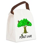 plant one2 Canvas Lunch Bag