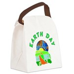 earth day home arts Canvas Lunch Bag