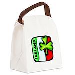 ireland flag Canvas Lunch Bag