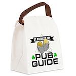 pub guide Canvas Lunch Bag