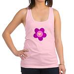 flower pink Racerback Tank Top