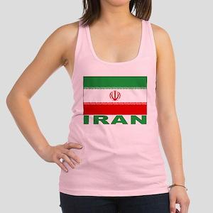iran_b Racerback Tank Top
