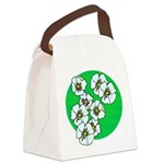 Blossoms Canvas Lunch Bag