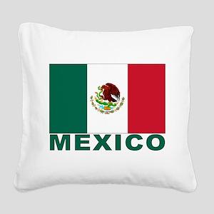 mexico_s Square Canvas Pillow