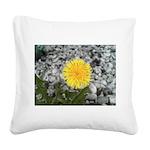 Dandelion Square Canvas Pillow