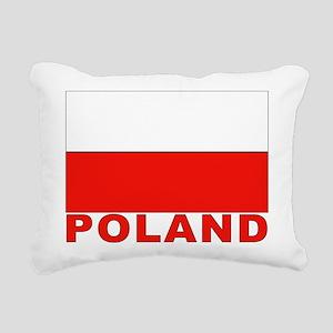 poland_b Rectangular Canvas Pillow