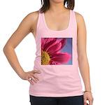 pink gerbera daisy pillow Racerback Tank Top