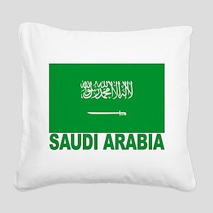 saudi-arabia_b Square Canvas Pillow