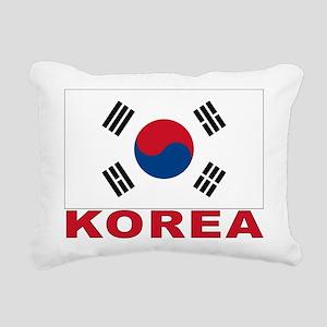 south-korea_b Rectangular Canvas Pillow
